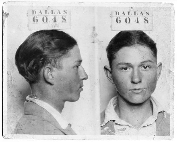 7 Facts about the real life of Bonnie and Clyde mugshot