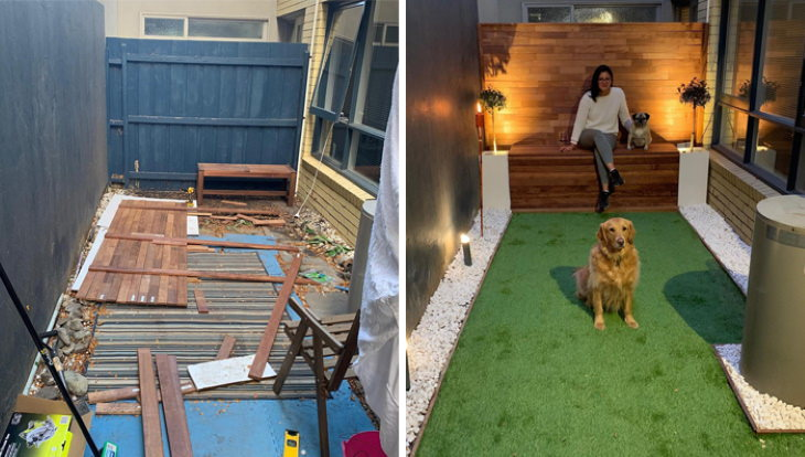 Home Projects People Completed in Lockdown yard