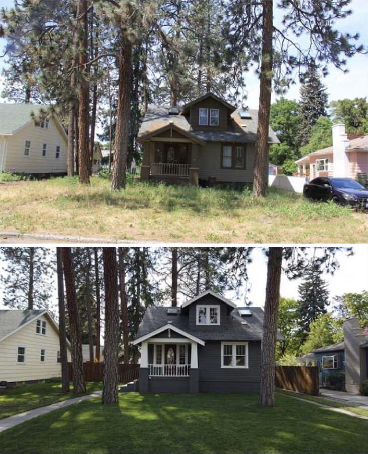 Home Projects People Completed in Lockdown Yard and Paint