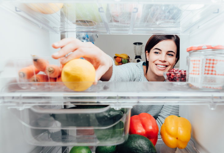 Food Storage Tips fridge