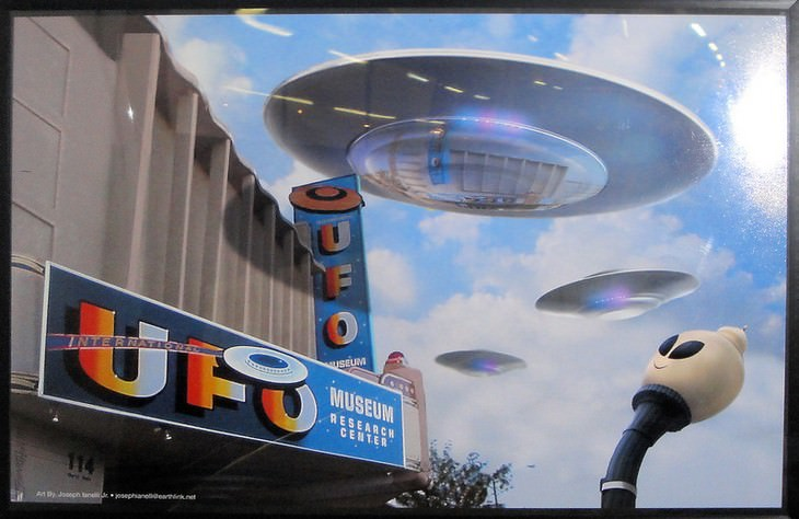 10 Strangest Museums Around the World UFO museum