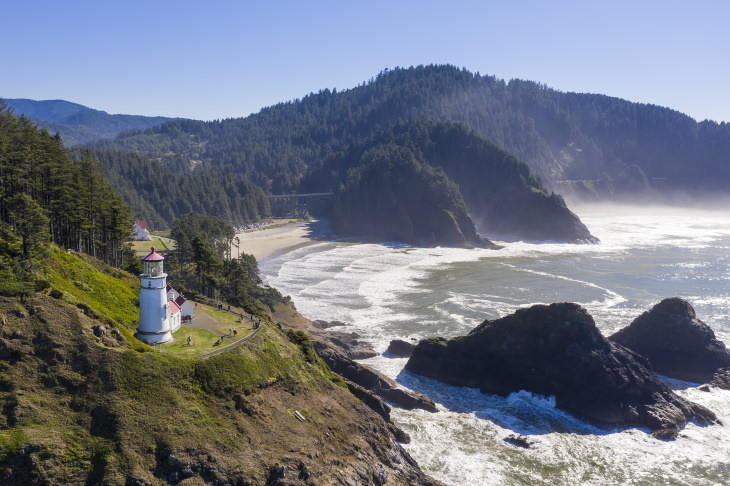 Scenic Road Trips in the USA Highway 101, Oregon