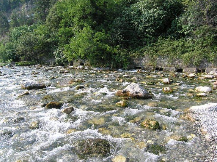 Shortest Rivers of the World, Reprua River, Georgia