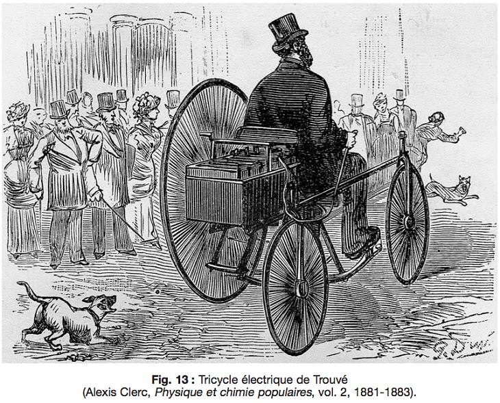 Oldest electric cars, Gustave Trouvé