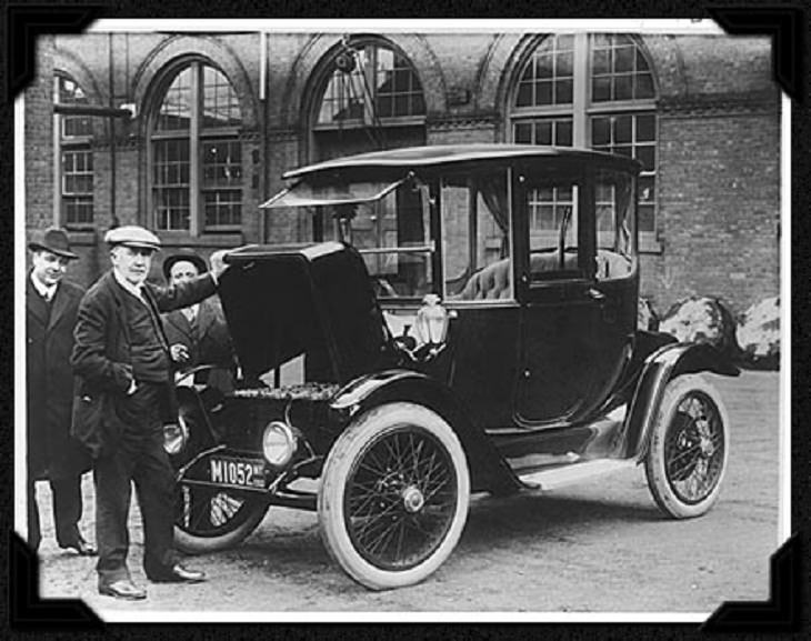Oldest electric cars, Thomas Edison