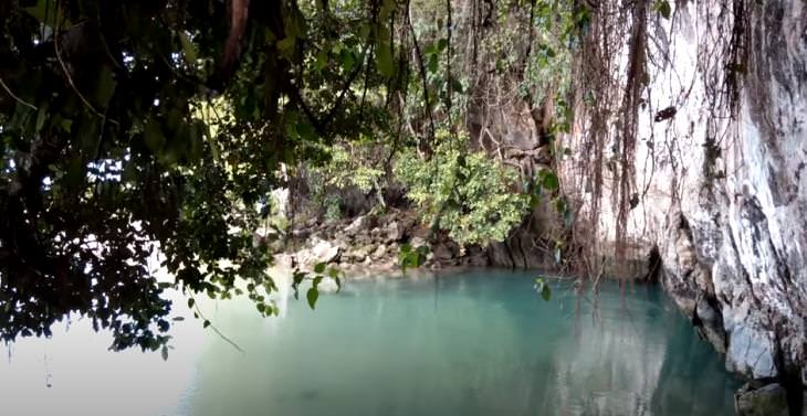 Shortest Rivers of the World, Tamborasi River, Indonesia
