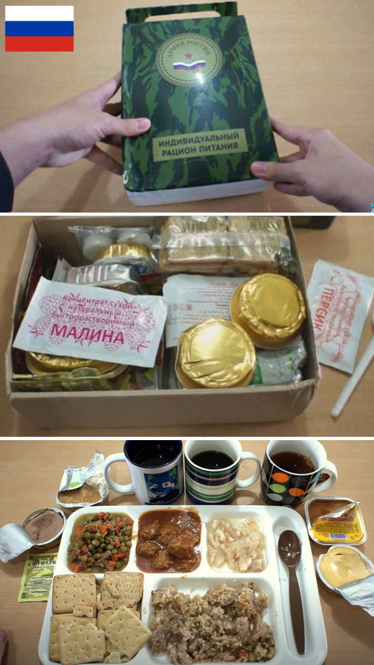 Military Rations Russia