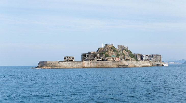 Abandoned Places in the World , Hashima Island, Japan