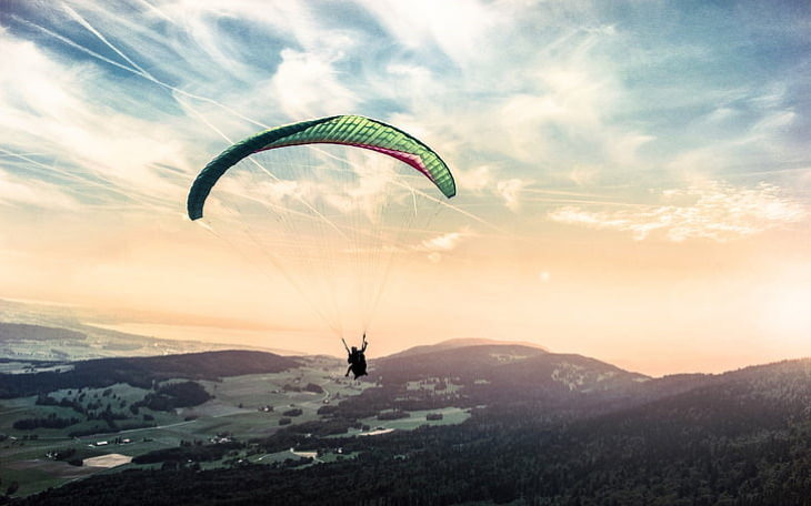 Bizarre Stories from History Paraglider