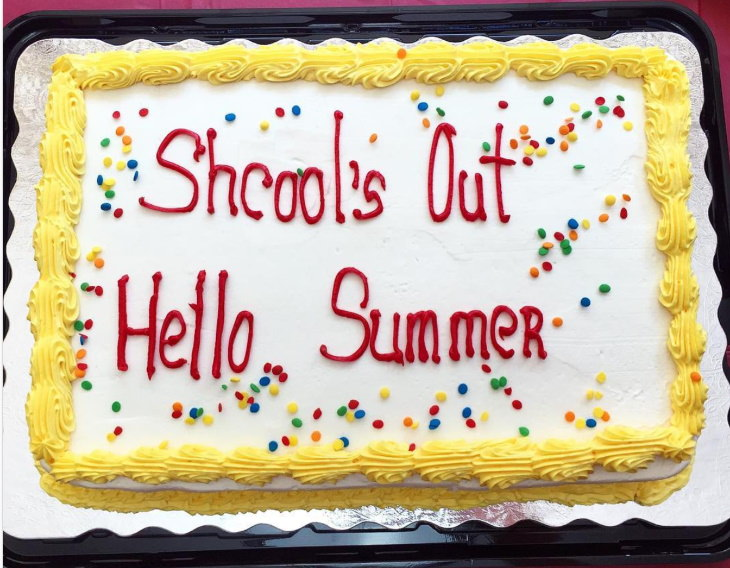 Cake Fails school's out