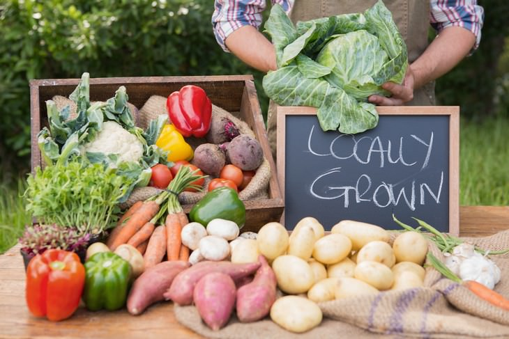 Are Farmers Markets Safe During the Pandemic? locally grown vegetables