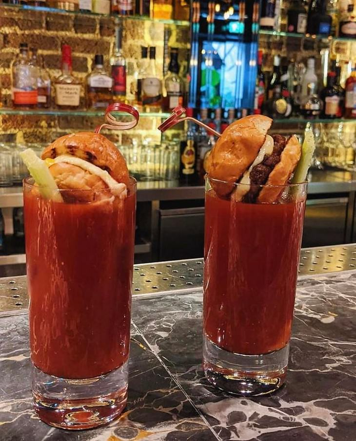 Restaurant Serving So Ridiculous They're Hilarious bloody mary