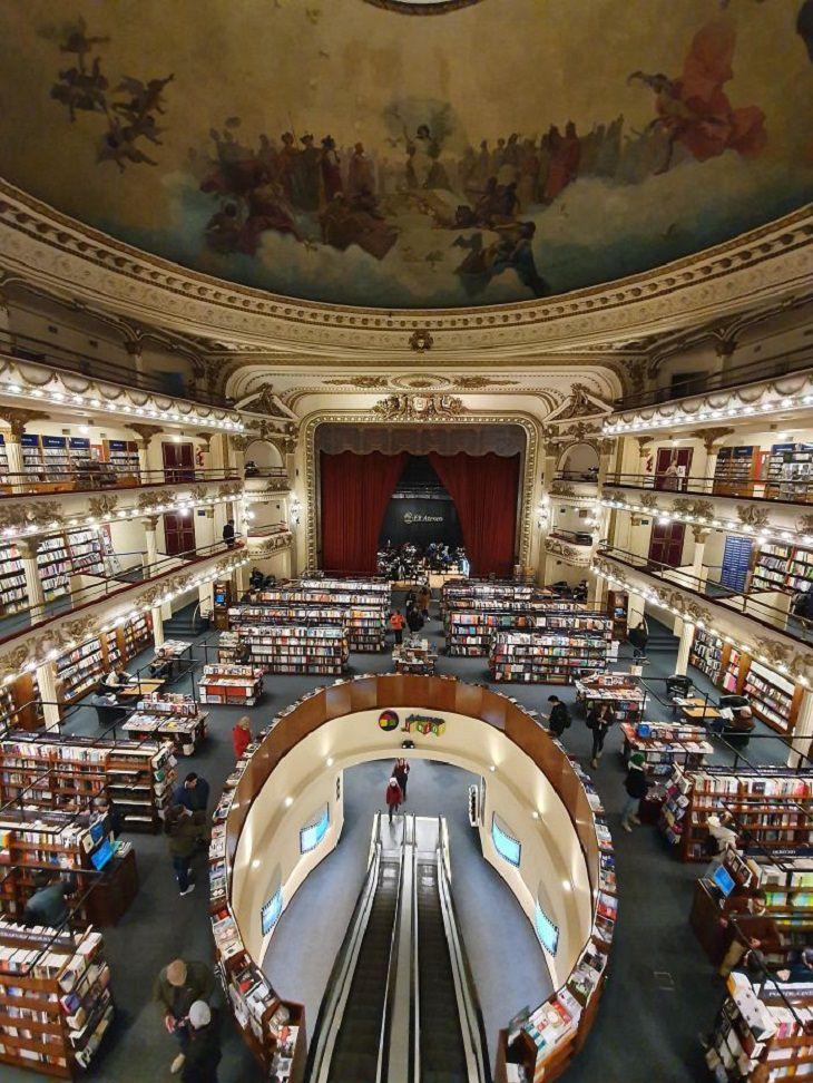Repurposed Buildings, bookstore
