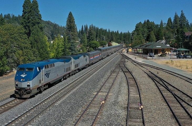 Τα μεγαλύτερα ταξίδια τρένων, Καλιφόρνια Zephyr