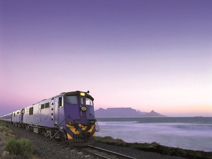 Τα μεγαλύτερα ταξίδια τρένου, μπλε τρένο