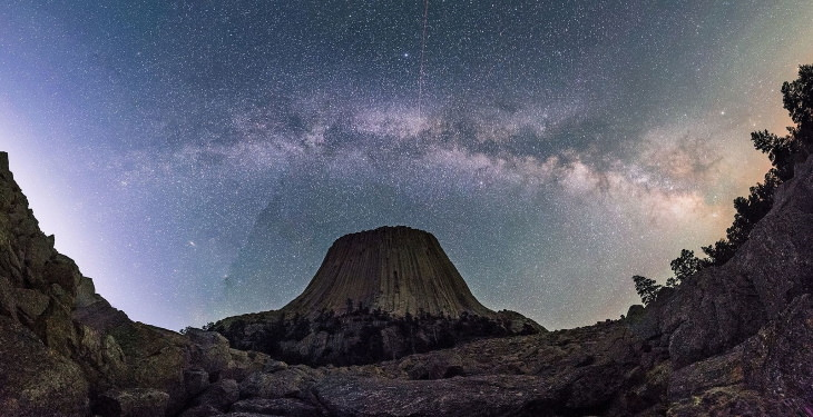 Places for Stargazing in the USA Devils Tower, Wyoming