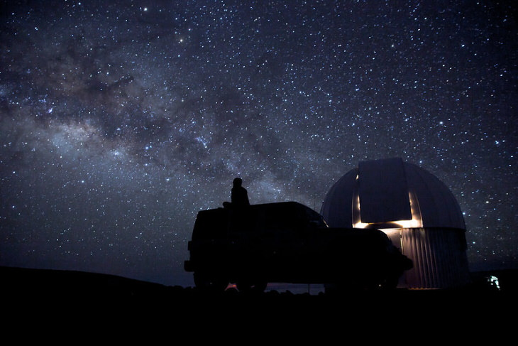 Places for Stargazing in the USA Mauna Kea, Hawaii