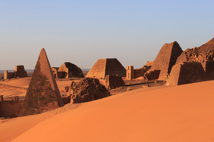 Mind-Blowing History Facts Meroe Pyramid, Sudan