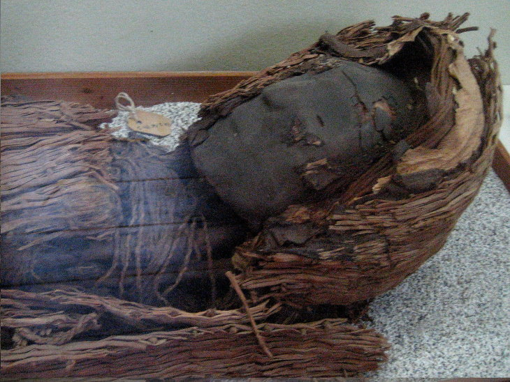 Mind-Blowing History Facts Mummy from the Chinchorro culture, found in Northern Chile