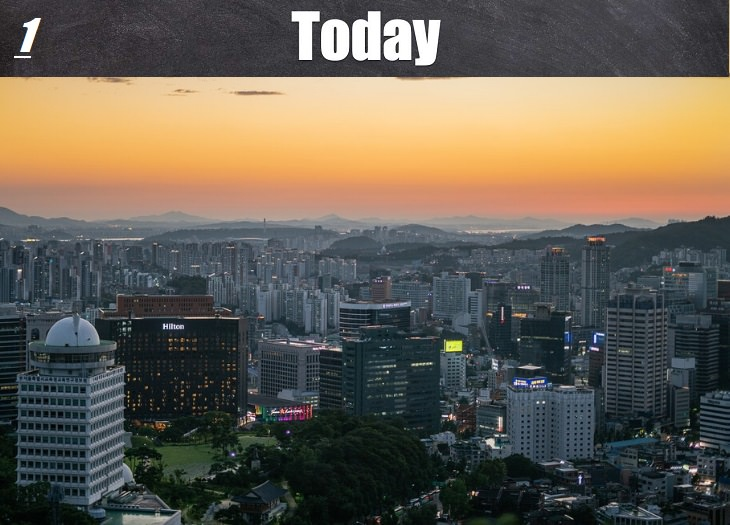 historical places before and after 100 years