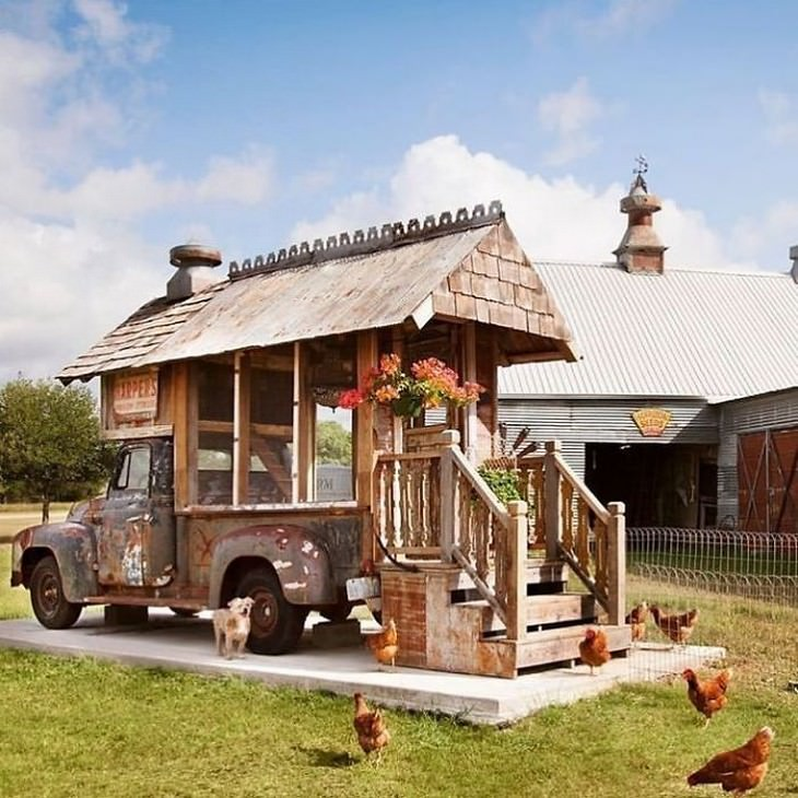 The Most Creative and Luxurious Chicken Coops