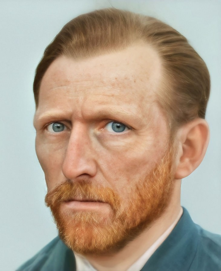 Find Out What Historical Figures Truly Looked Like vincent van gogh