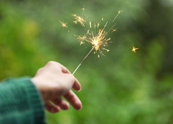 New Study: Some Fireworks Release Dangerous Toxins sparkler