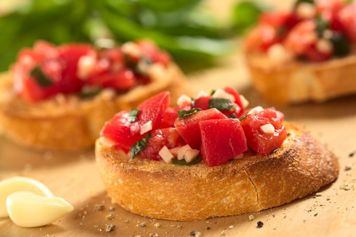 Quick and Healthy Meal, Bruschetta