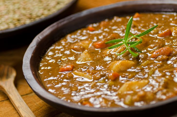Quick and Healthy Meal, Lentil Soup