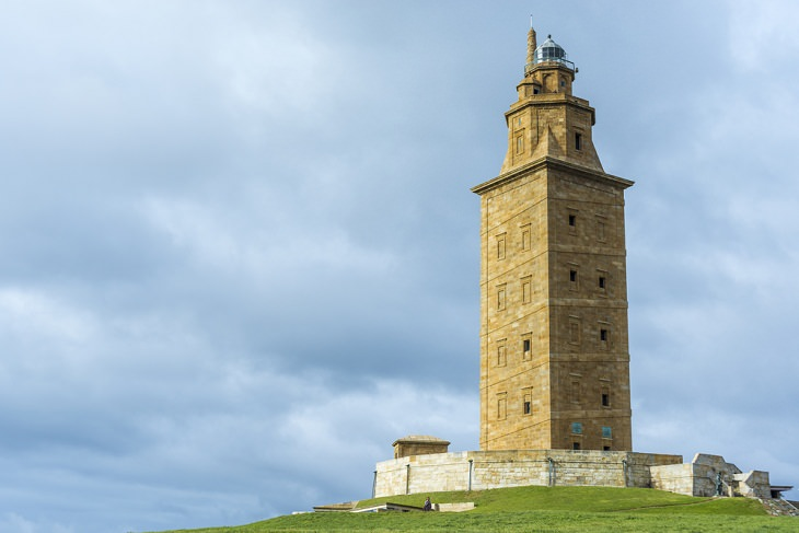 Ancient Buildings,  Tower of Hercules