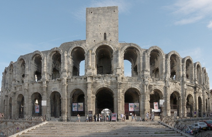 Ancient Buildings,  Arles Amphitheatre