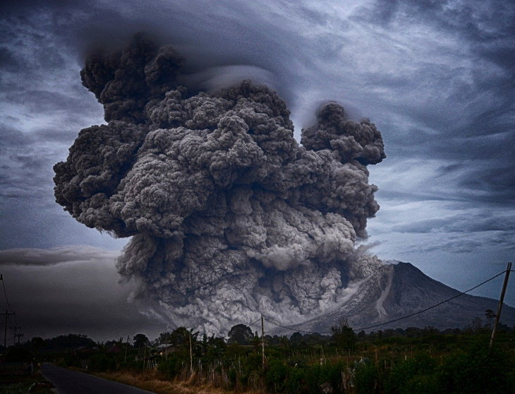 Creepy Facts volcano eruption