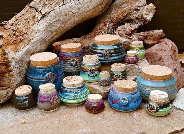 Cute Kitchen Items, handmade jar