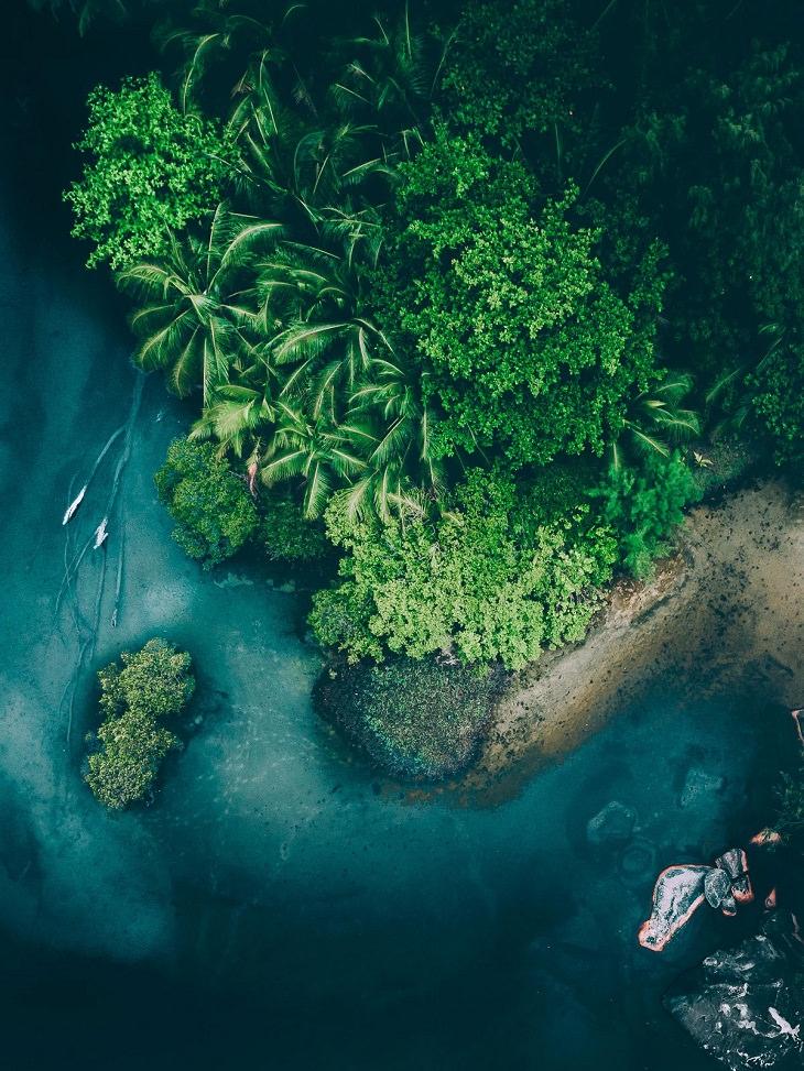 Aerial Photos, tropics