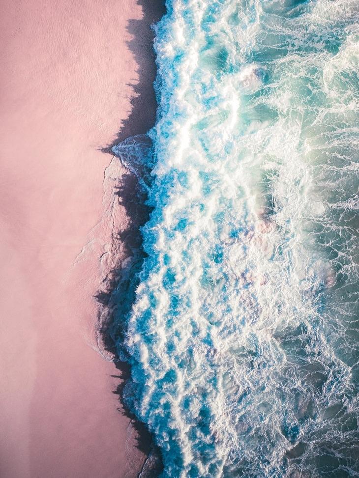 Aerial Photos, waves