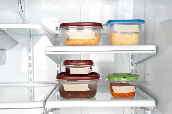 6 Simple & Practical Tips To Organize Your Kitchen see through containers