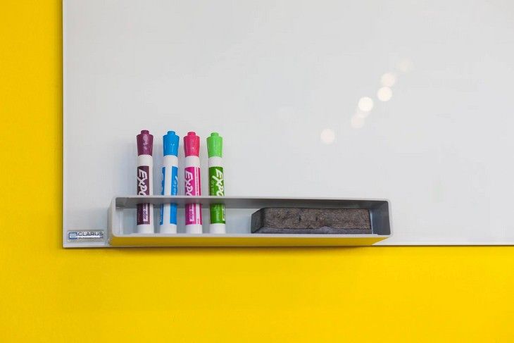 6 Simple & Practical Tips To Organize Your Kitchen whiteboard