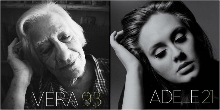 Seniors Brilliantly Recreate Famous Album Covers Adele - 21