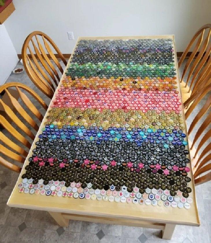 Inventive Upgrades, bottle caps