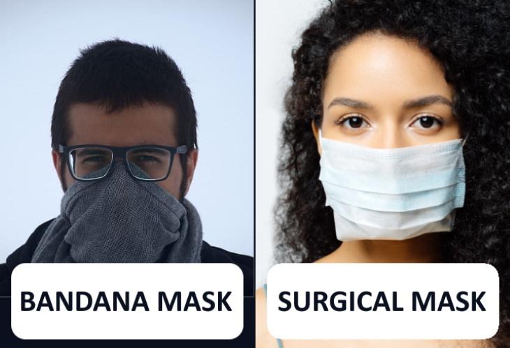 best and worst masks to prevent coronavirus bandana surgical mask