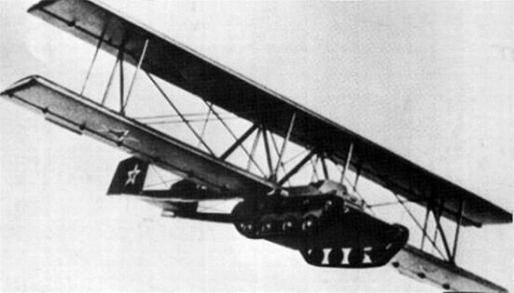 Failed Inventions, Flying Tanks