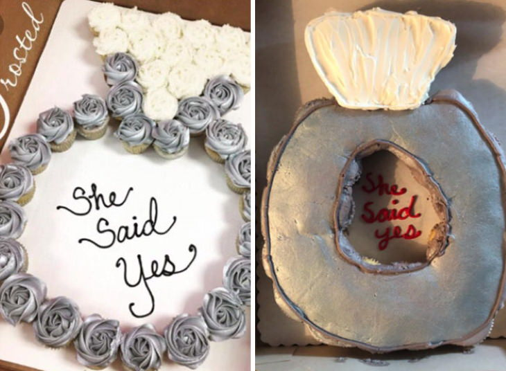 Online Shopping Fails toilet seat cake