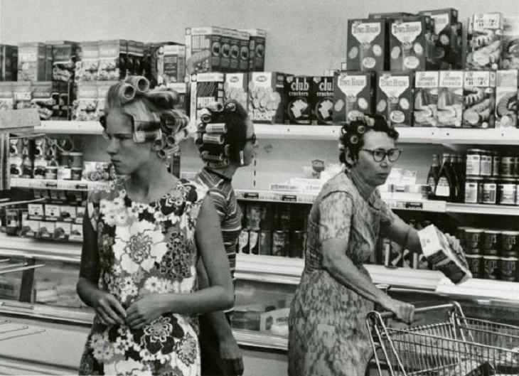 Vintage Photos, Grocery shop