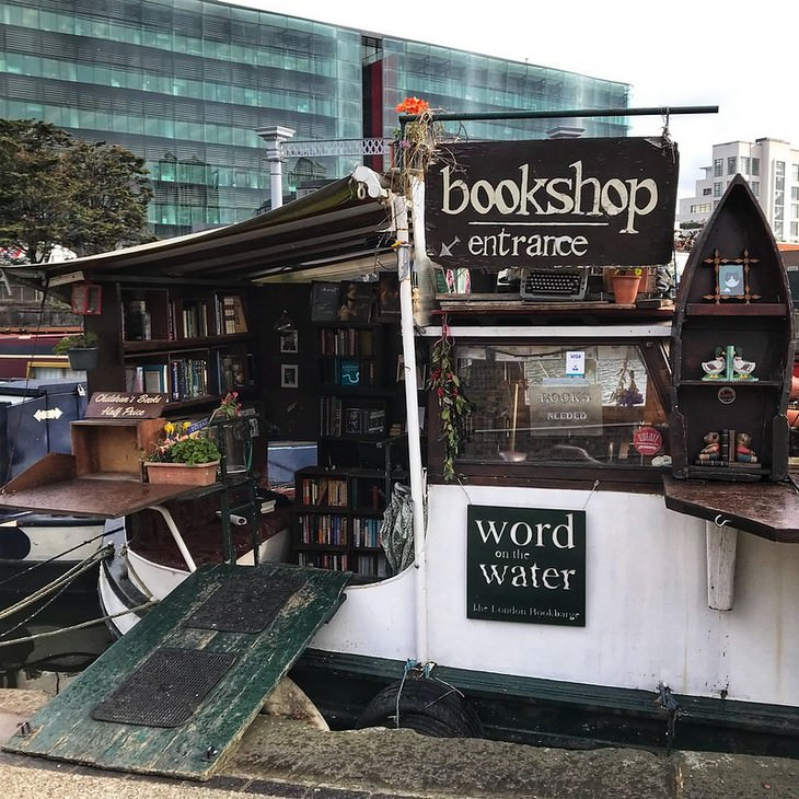 Unusual Bookshops Located in Strange Places Words On Water