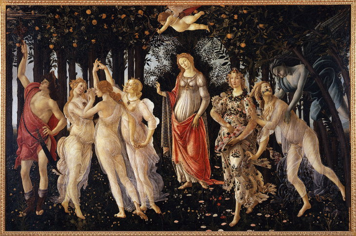 Hidden Messages in Famous Art 'Primavera' by Sandro Botticelli (1482)