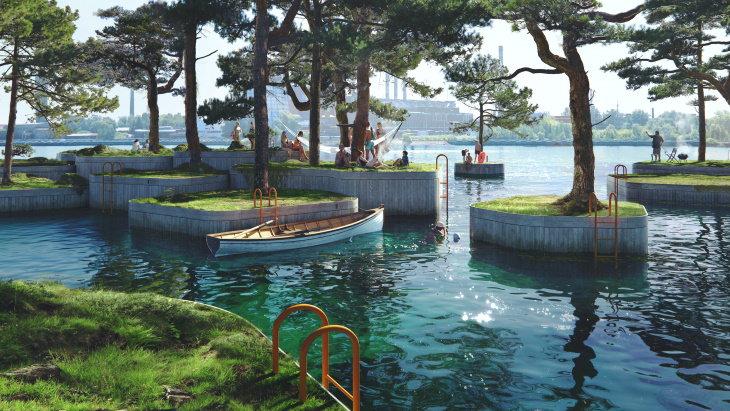 Copenhagen Islands people and islands