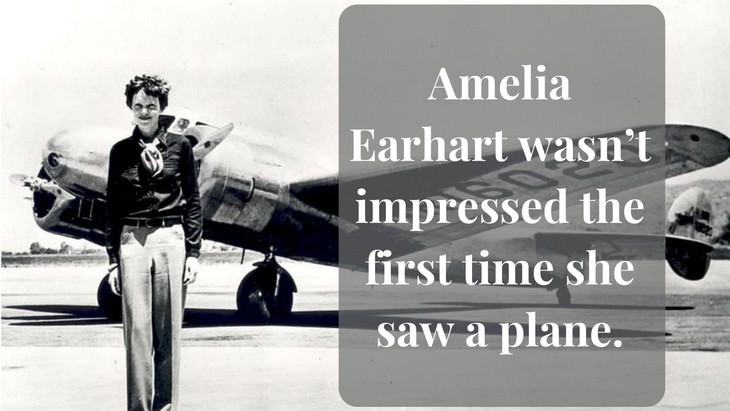 10 Fascinating Facts About Amelia Earhart 1 time