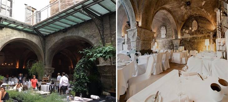 oldest restaurants in the world St. Peter Stiftskulinarium in Salzburg