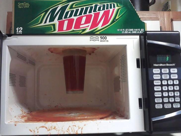 Microwave fails