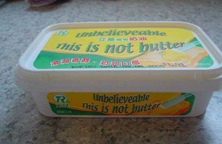 Translation Fails not butter
